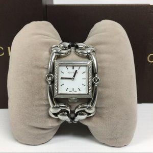 Gucci Signoria 116.3 Diamond Mother of Pearl Watch